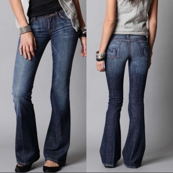 Citizens Of Humanity Denim - Citizens of Humanity Ingrid Low Waist Flare